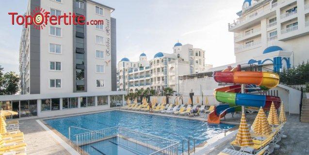 РАННИ ЗАПИСВАНИЯ Kolibri Hotel 4*, Алания, Турция! 2 или 4 нощувки на база All Inclusive + самолет, летищни такси и трансфер само за 471 лв на човек
