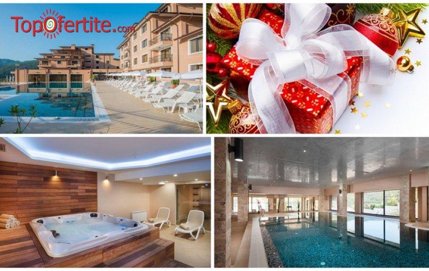 Хотел Вела Хилс 4*, Велинград за Коледа! 3 или 4 нощувки + закуски, минерални басейни, ползване на СПА пакет и опция за Празнични вечери на 24 и 25.12 на цени от 240 лв. на човек