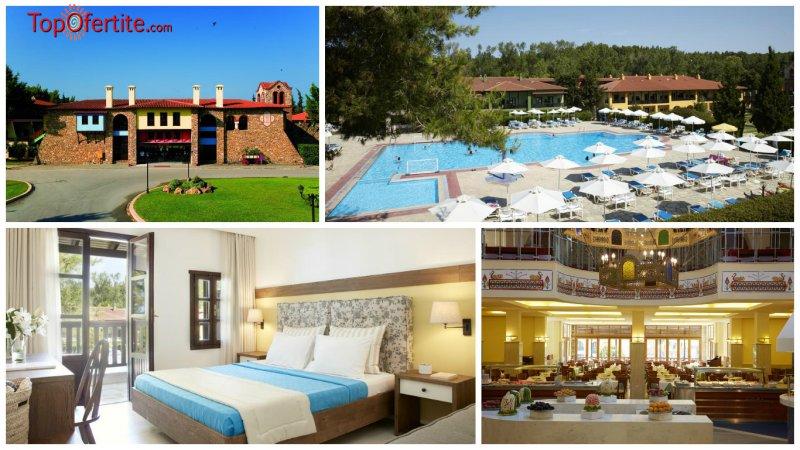 РАННИ ЗАПИСВАНИЯ за хотел Simantro Beach 4*, Халкидики, Гърция! Нощувка + закуска, вечеря и без...