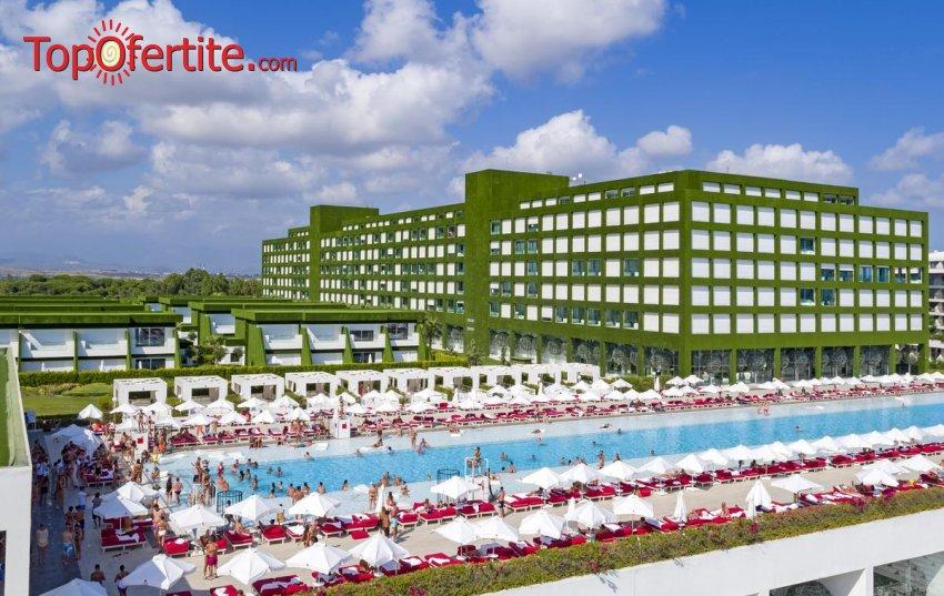 РАННИ ЗАПИСВАНИЯ Adam & Eve Hotel 5 *, Белек, Турция! 2 или 4 нощувки на база Ultra All Inclusive + самолет, летищни такси, трансфер на цени от 698 лв на човек