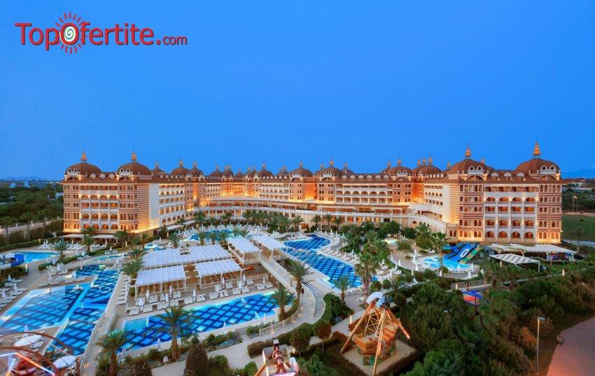РАННИ ЗАПИСВАНИЯ Royal Alhambra 5*, Сиде, Турция! 2 или 4 нощувки на база Ultra All Inclusive + СПА център, самолет, летищни такси, трансфер на цени от 635 лв на човек