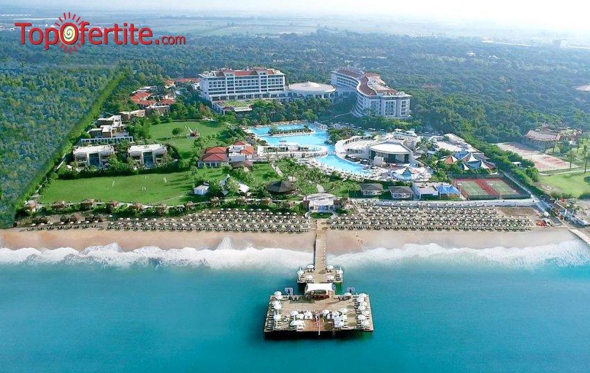 РАННИ ЗАПИСВАНИЯ Ela Quality Resort 5 *, Белек, Турция! 4 или 7 нощувки на база Extra All Inclusive + самолет, летищни такси, трансфер на цени от 1126 лв на човек