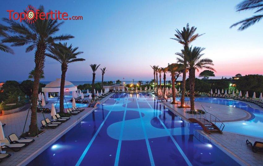 РАННИ ЗАПИСВАНИЯ Limak Atlantis De Luxe Hotel & Resort 5*, Белек, Турция! 2 или 4 нощувки на база Ultra All Inclusive + СПА център, самолет, летищни такси, трансфер на цени от 655 лв на човек
