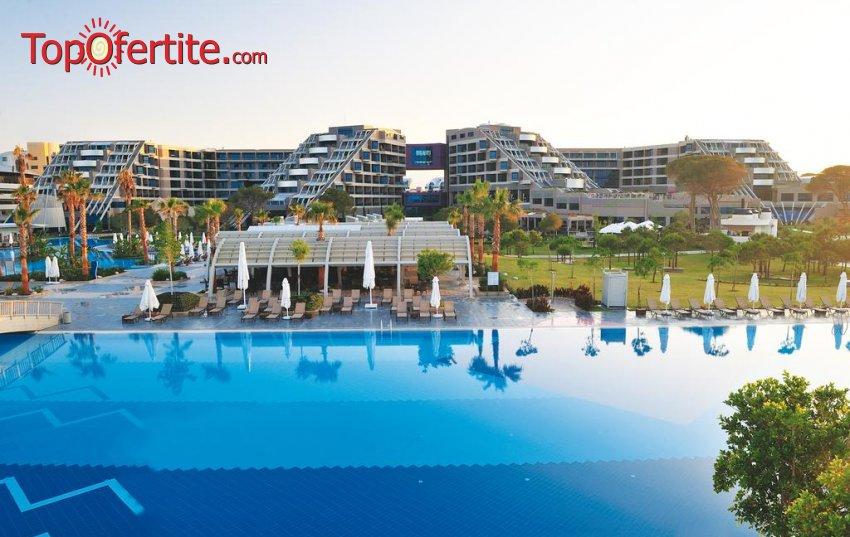 РАННИ ЗАПИСВАНИЯ Susesi Luxury Resort 5 *, Белек, Турция! 4 или 7 нощувки на база Ultra All Inclusive + СПА център, самолет, летищни такси, трансфер на цени от 1032.50 лв на човек