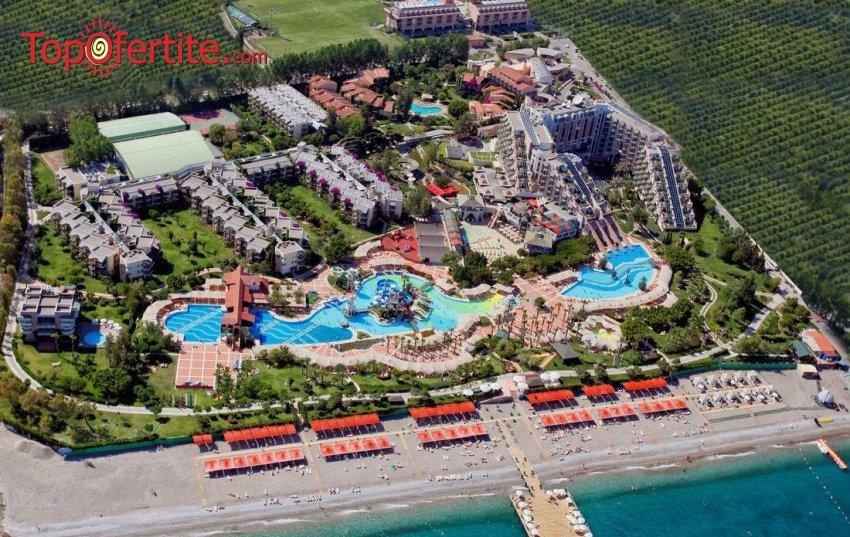 РАННИ ЗАПИСВАНИЯ Limak Limra Hotel & Resort 5*, Кемер, Турция! 2 или 4 нощувки на база Ultra All Inclusive + СПА център, самолет, летищни такси, трансфер на цени от 600 лв на човек