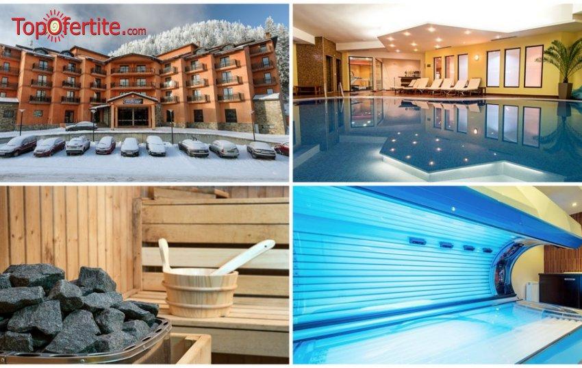 Хотел Белвю Ски и СПА 4*, Пампорово! Нощувка + закуска, вечеря, вътрешен плувен отопляем басейн, трансфер до ски лифта и Уелнес пакет на цени от 60 лв. на човек
