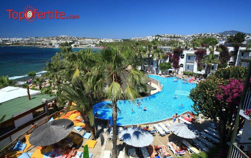Великден или 1 Май в хотел Parkim Ayaz 4*, Бодрум, Турция! 5 нощувки с автобус или собствен транспорт на база All Inclusive за 240лв на човек