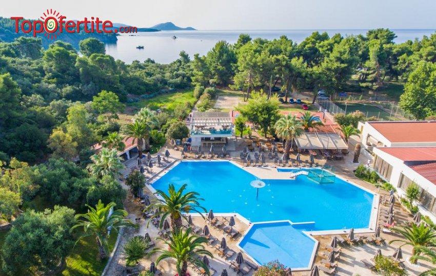 РАННИ ЗАПИСВАНИЯ Poseidon Resort - Halkidiki 4*, Ситония, Халкидики - Гърция, първа линия! Нощувка на база All inclusive + ползване на басейн на цени от 102,80 лв. на човек