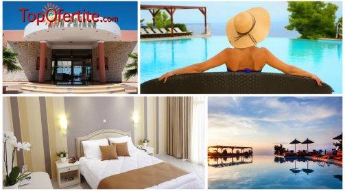 РАННИ ЗАПИСВАНИЯ Alia Palace Luxury Resort Hotel and Villas 5*, Касандра, Халкидики - Гърция! Нощувка + закуска, вечеря и ползване на басейн на цени от 78,50 лв. на човек
