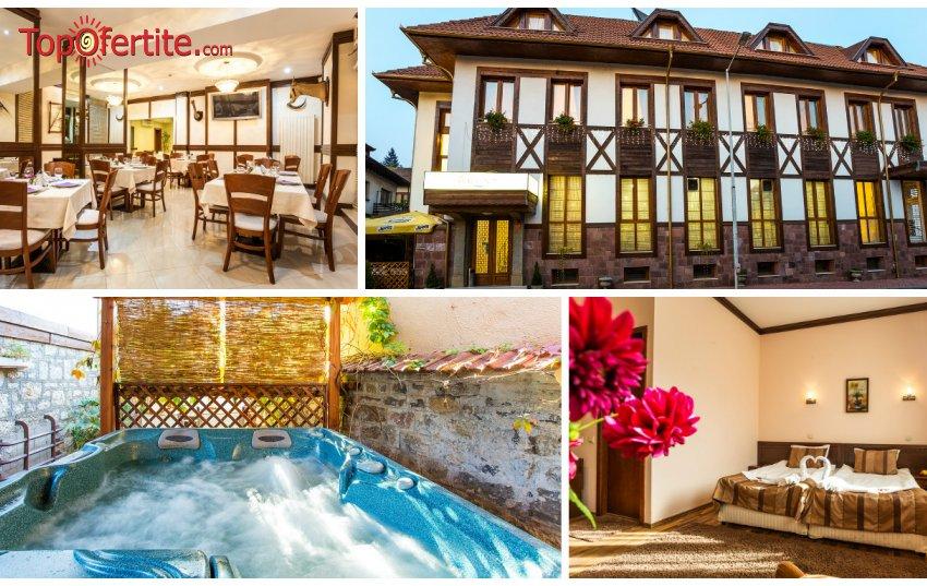 Хотел Тетевен! Нощувка с изхранване по избор + басейн, джакузи и сауна на цени от 45 лв