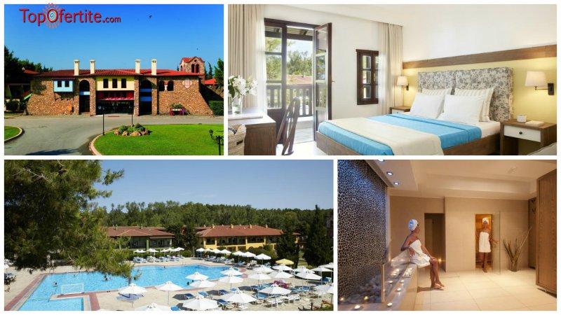Хотел Simantro Beach 4*, Халкидики - Гърция за Великден! 2, 3 или 4 нощувки + закуски, вечери, празничен обяд и празнична програма на цени от 227,20 лв. на човек
