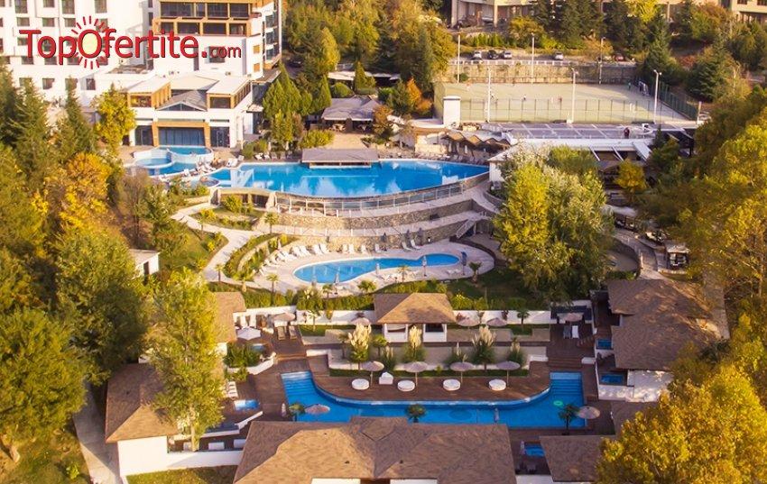 Хотел Медите Спа Резорт & Вили 5*, гр. Сандански! 2, 3 или 4 нощувки + закуски, вечери, класически масаж, басейн с минерална вода, външно джакузи и Уелнес пакет на цени от 210 лв. на човек и Дете до 12г. Безплатно