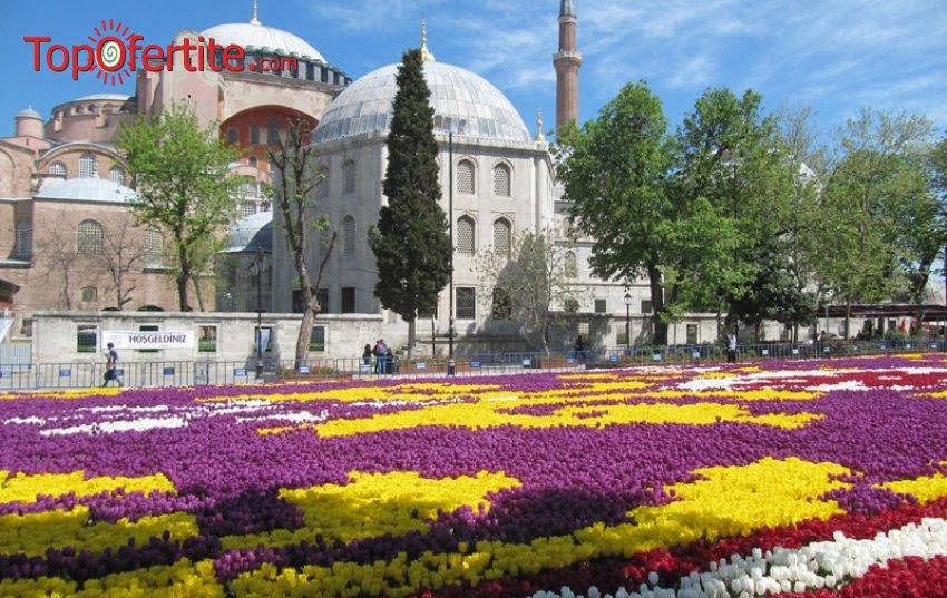 4-дневна екскурзия до Истанбул за Фестивала на лалето с включени 2 нощувки със закуски с възможност за посещение на WATERGARDEN İSTANBUL за 94 лв.