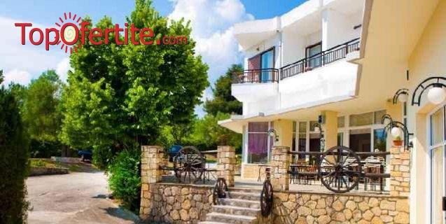 РАННИ ЗАПИСВАНИЯ Pashos Hotel 3*, Касандра, Халкидики - Гърция! Нощувка + закуска, вечеря и безплатно дете до 12 г. на цени от 65,80 лв. на човек