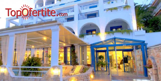 Secret Paradise Hotel and Spa 4*, Касандра, Халкидики, Гърция! Нощувка + закуска и опция с вечеря на цени от 50,30 лв. на човек