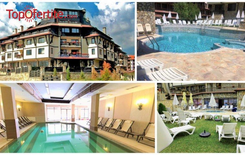 Великденски и Майски празници в Хотел Мария-Антоанета Резиденс 4*, Банско! 3 или 4 нощувки с изхранване по избор + отопляем басейн и СПА пакет на цени от 126 лв. на човек