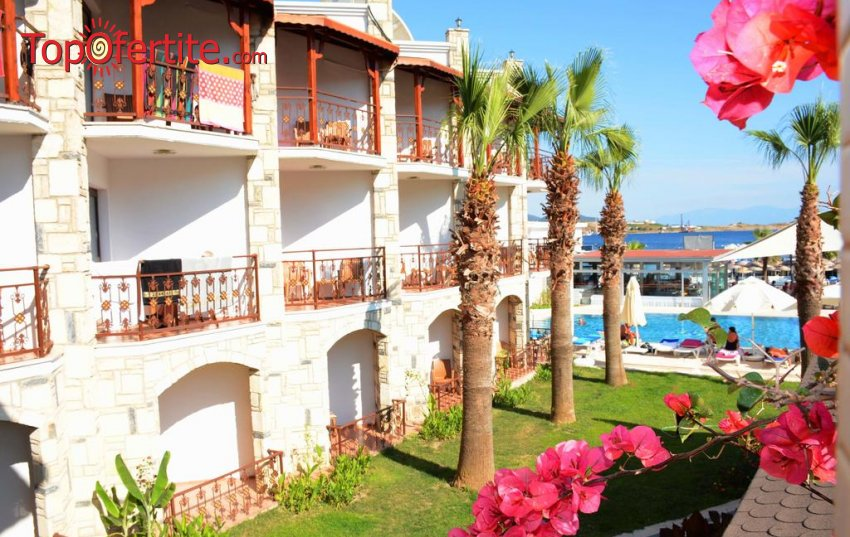 РАННИ ЗАПИСВАНИЯ Ayaz Aqua Hotel 4 *, Бодрум, Турция! 7 нощувки на база All Inclusive + самолет, летищни такси и трансфер за 645лв на човек
