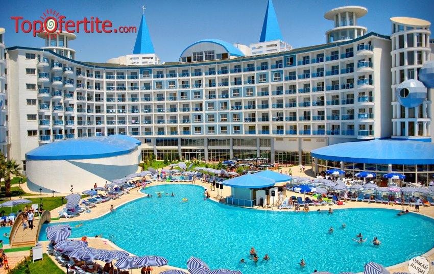 РАННИ ЗАПИСВАНИЯ Buyuk Anadolu Didim Resort 5*, Дидим, Турция! 5, 7 или 9 нощувки с автобус или собствен транспорт на база All Inclusive на цени от 370 лв на човек