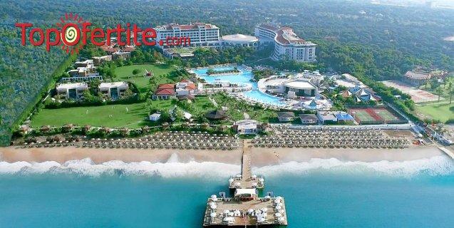 РАННИ ЗАПИСВАНИЯ Ela Quality Resort 5 *, Белек, Турция! 4 или 7 нощувки на база Extra All Inclusive + самолет, летищни такси, трансфер на цени от 1182 лв на човек
