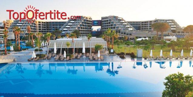 РАННИ ЗАПИСВАНИЯ Susesi Luxury Resort 5 *, Белек, Турция! 4 или 7 нощувки на база Ultra All Inclusive + СПА център, самолет, летищни такси, трансфер на цени от 1119.50 лв на човек