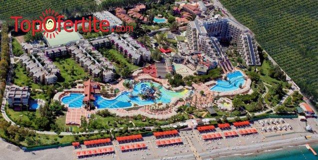 РАННИ ЗАПИСВАНИЯ Limak Limra Hotel & Resort 5*, Кемер, Турция! 7 или 9 нощувки на база Ultra All Inclusive + СПА център, самолет, летищни такси, трансфер на цени от 1243.50лв на човек