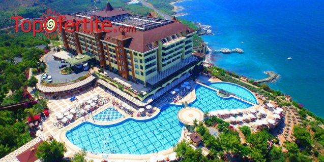 РАННИ ЗАПИСВАНИЯ Utopia World Hotel 5*, Алания, Турция! 2 или 4 нощувки на база Ultra All Inclusive + самолет, летищни такси и трансфер на цени от 651.50 лв на човек
