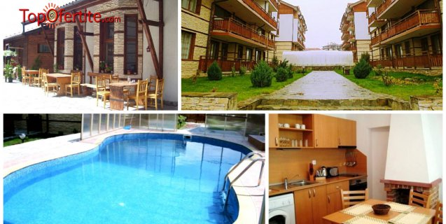 Хотел Четирилистна детелина, Банско! Нощувка с изхранване по избор + басейн, сауна, парна баня на цени от 25,90 лв. на човек