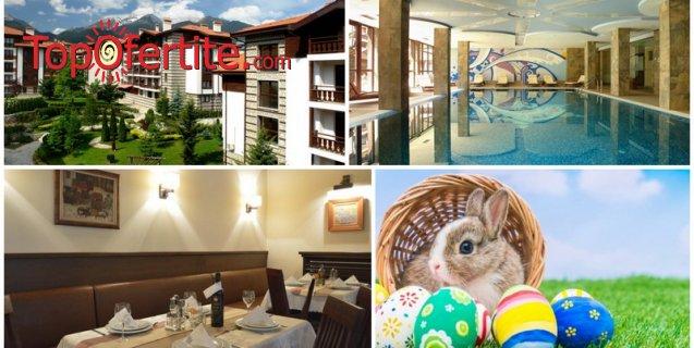 Великден в Хотел Уинслоу Инфинити 3*, Банско! 3 или 4 нощувки + закуски, обяди, вечери, Празничен обяд, отопляем закрит басейн, джакузи и Уелнес пакет на цени от 174 лв. на човек