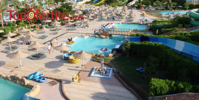 Last Minute!! Хотел Titanic Aqua Park 4*, Хургада, Египет! 6 нощувки в Хургада + 1 нощувка в Кайро на база Royal All Inclusive + самолет, летищни такси и трансфер за 616лв на човек