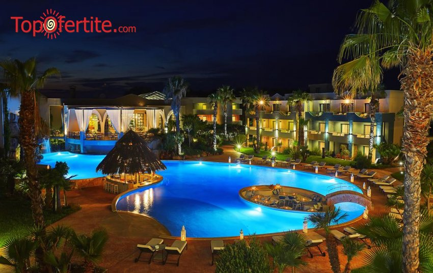 Ilio Mare Beach Hotel 5*, Скала Принос, Тасос - Гърция! Нощувка + закуска, вечеря и ползване на басейн на цени от 82.20 лв. на човек