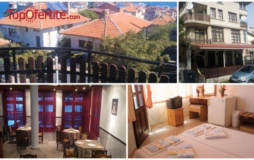 Семеен хотел Слънце VIP зона, Созопол на 100 м. от плажа! Нощувка на база закуска и обяд или вечеря по избор + напитки и басейн на цени от 39 лв. на човек
