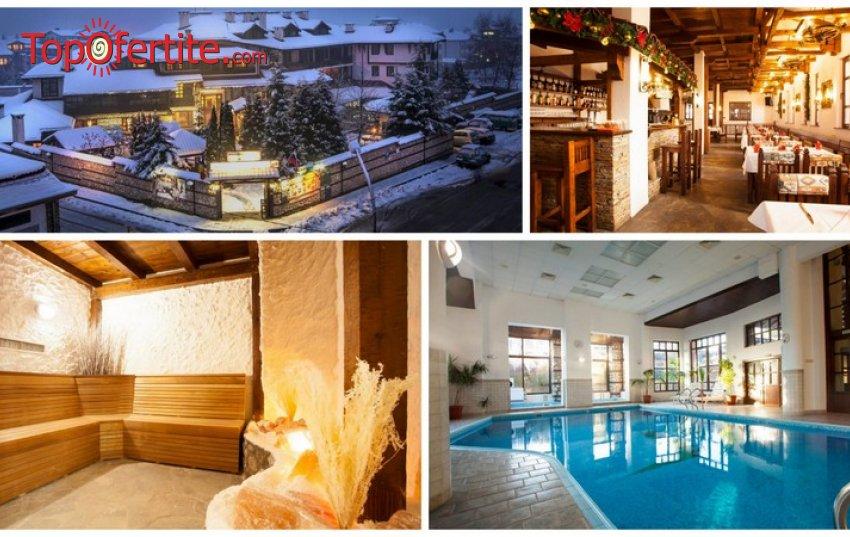 Хотел Танне 4*, Банско! Нощувка с изхранване по избор + минерален басейн 33°, джакузи, сауна, парна баня и СПА на цени от 31.50 лв. на човек