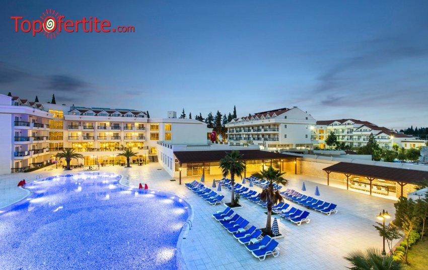 РАННИ ЗАПИСВАНИЯ Kemer Dream Hotel 4*, Кемер, Турция! 2 или 4 нощувки на база All Inclusive + самолет, летищни такси и трансфер на цени от 577 лв на човек