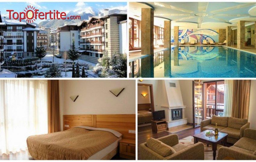 Уикенд в Хотел Уинслоу Инфинити 3*, Банско! 1 нощувка в студио или апартамент + закуска, вечеря, отопляем басейн, джакузи и Уелнес пакет на цени от 48 лв на човек