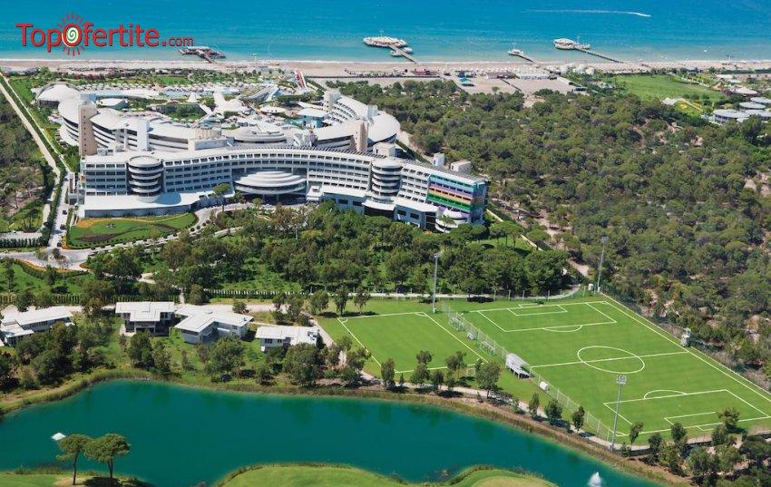РАННИ ЗАПИСВАНИЯ Cornelia Diamond Golf Resort & Spa 5*, Белек, Турция! 5 или 7 нощувки на база All Inclusive + СПА център, самолет, летищни такси, трансфер на цени от 1699лв на човек
