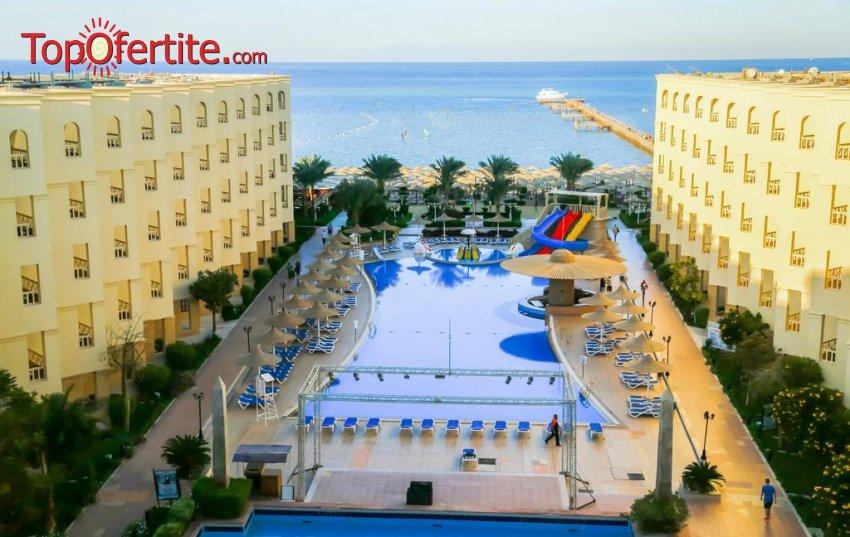 Почивка в Египет със самолет! 7 нощувки на база All Inclusive в хотел AMC Royal Hotels & SPA 5*, Хургада, самолетни билети, летищни такси и трансфер за 792 лв на човек