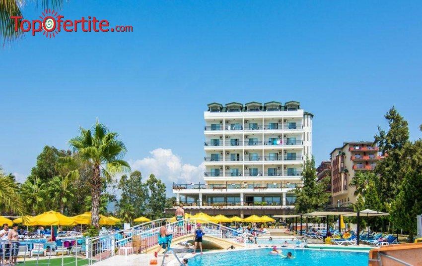 Почивка в Турция със самолет! 2 или 4 нощувки на база Ultra All Inclusive в хотел Perre Delta Resort & SPA 5*, Алания, самолетни билети, летищни такси и трансфер на цени от 542 лв на човек
