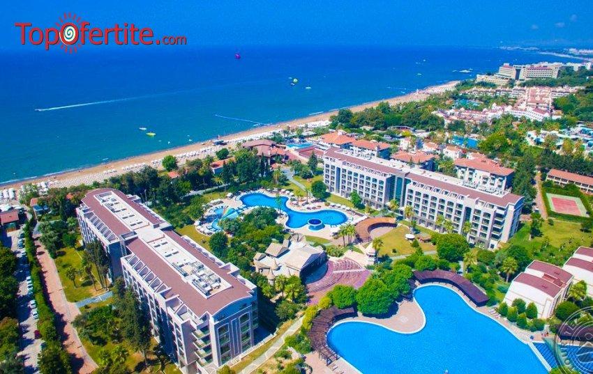 Last Minute почивка в Турция, Анталия, заминаване на 03.05 или 05.05! 7 нощувки на база All Inclusive в хотел 5* + самолетни билети, трансфер и летищни такси на цени от 430 лв на човек