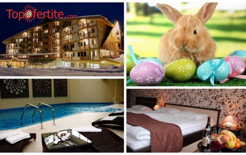 Великден в Хотел Айсберг 4*, Боровец! 2, 3 или 4 нощувки + закуски, Празничен обяд, басейн и сауна на цени от 90 лв. на човек