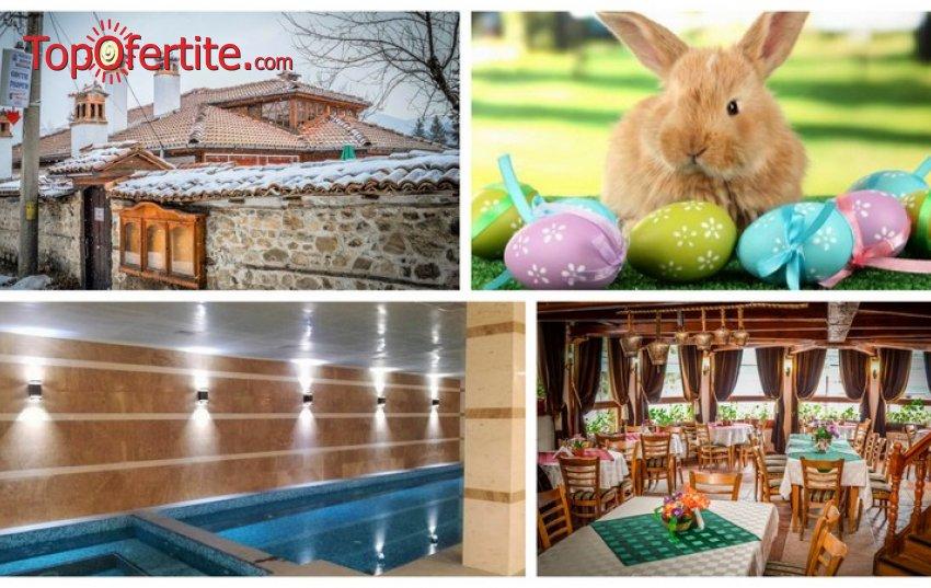 Великден в Комплекс Галерия, Копривщица! 3 нощувки + закуски, вечери, солна стая, топъл басейн, джакузи и сауна за 170 лв на човек