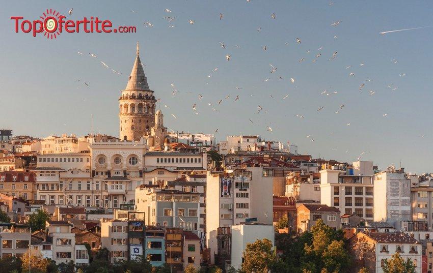 4-дневна екскурзия до Истанбул за Гергьовден с дневен преход + 3 нощувки със закуски, транспорт и екскурзоводско обслужване за 145 лв.