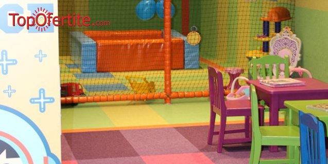 Детски рожден ден в KidSpace Sofia Ring Mall за 7 деца + 2 аниматорки, детски менюта, украса, парти шапки и свирки за 2 часа само за 165 лв вместо за 330 лв