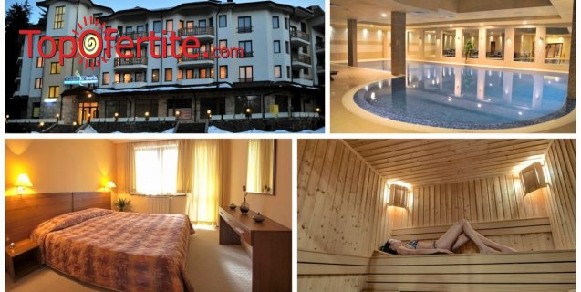 Апартаменти за гости Вила Парк, Боровец! Нощувка + закуска или закуска и вечеря или All Inclusive Light + 14-метров вътрешен отопляем басейн, Уелнес пакет на цени от 29, 90 лв. на човек