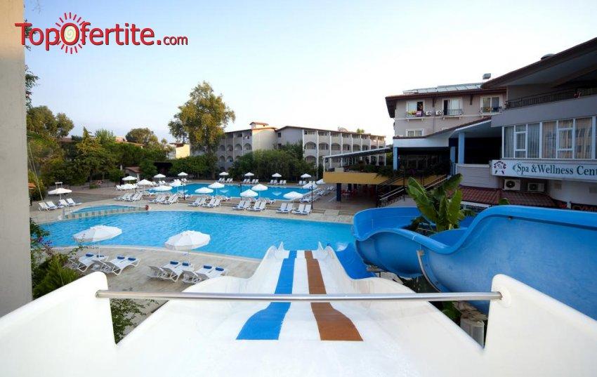 Почивка в Турция, Сиде с полет на 21.06! 7 нощувки на база All Inclusive в хотел Armas Bella Sun 4*, самолетни билети, трансфер и летищни такси за 967 лв на човек