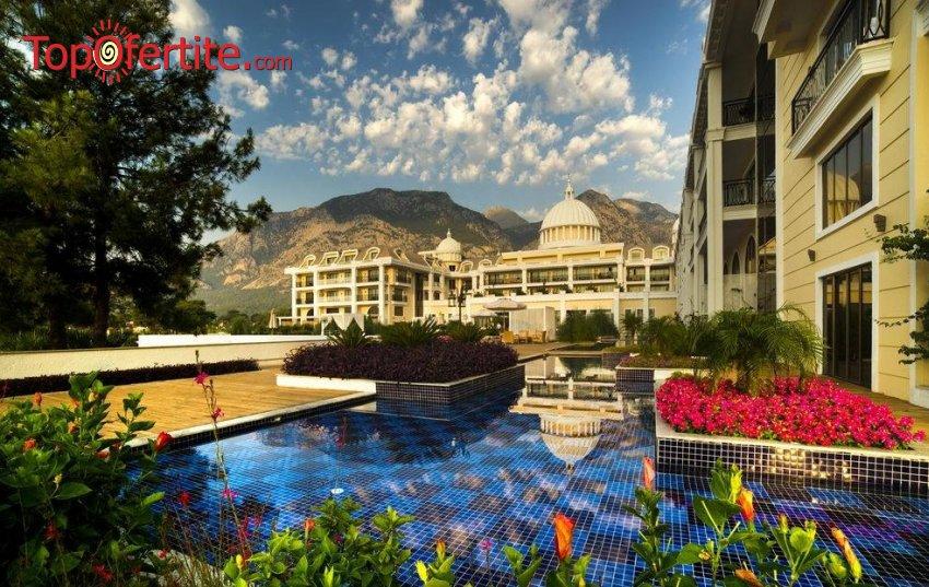 Почивка в Турция, Кемер с полет на 21.06! 7 нощувки на база Ultra All Inclusive в хотел Amara Premier Palace 5*, самолетни билети, летищни такси, трансфер за 1553.50 лв на човек