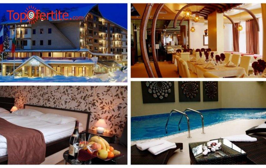 Хотел Айсберг 4*, Боровец! Нощувка + закуска, обяд, вечеря и басейн на цени от 42.50 лв. на човек