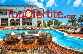 Possidi Paradise Hotel 4*, Касандра, Халкидики, Гърция, първа линия! Нощувка + закуска, вечеря и ползване на басейн на цени от 61.10 лв. на човек