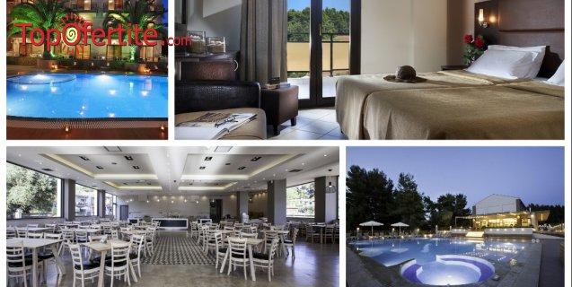 Simeon Hotel 3*, Ситония, Халкидики, Гърция! Нощувка + закуска, вечеря, ползване на бесейн и безплатно за дете до 12,99 г. на цени от 52.20 лв. на човек