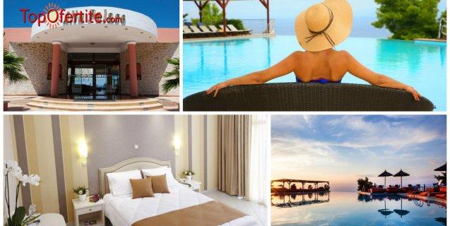 Alia Palace Luxury Resort Hotel and Villas 5*, Касандра, Халкидики - Гърция! Нощувка + закуска, вечеря и ползване на басейн на цени от 87.20 лв. на човек