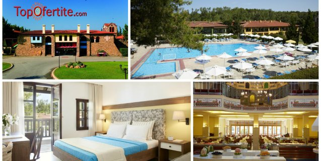 Simantro Beach 4*, Халкидики, Гърция! Нощувка + закуска, вечеря и безплатно дете до 11,99г. на цени от 74.80 лв. на човек